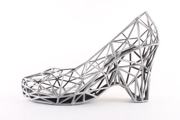 «Распечатанные» туфли от Continuum Fashion