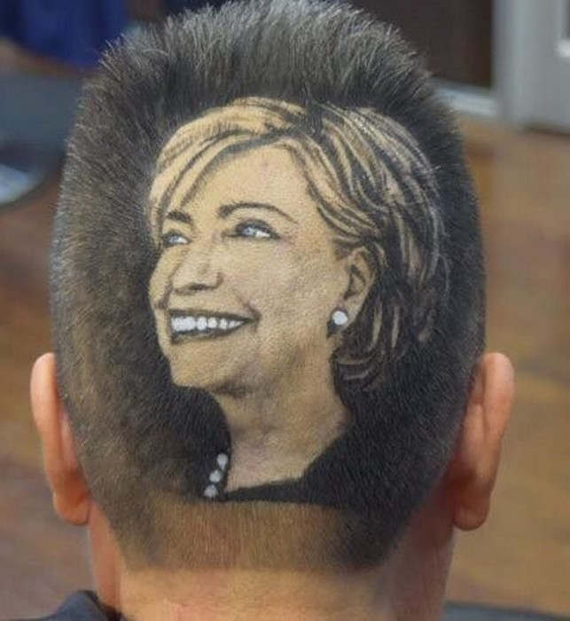 13 сумасшедших мужских причёсок