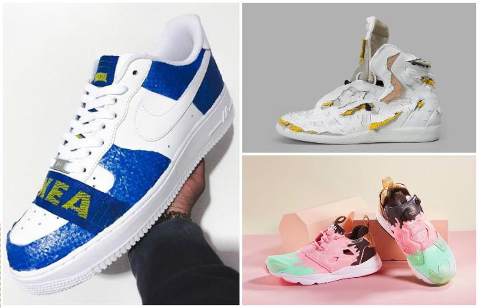 10 безумных дизайнерских кроссовок этого лета. 10 безумных дизайнерских  кроссовок этого лета. Какая самая удобная обувь ... b53db17e16c
