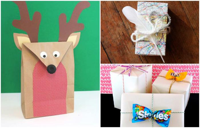 7 крутых вариантов, как упаковать подарок без обёрточной бумаги