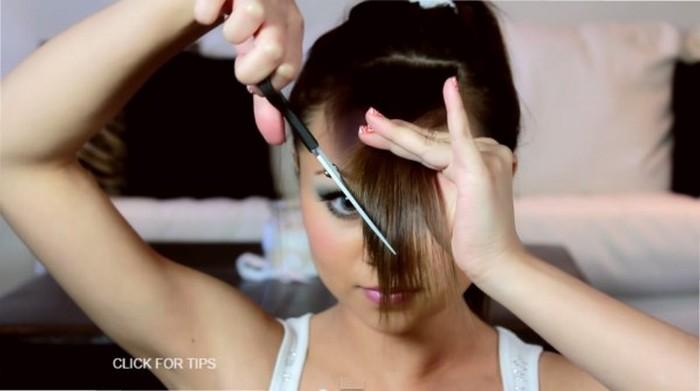 Как самостоятельно подстричь чёлку и не пожалеть об этом