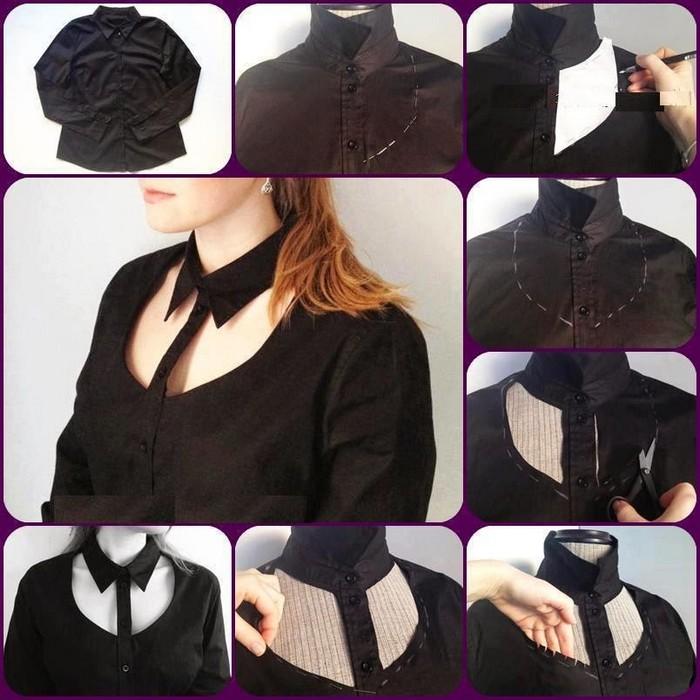 9 крутых апгрейдов обычных рубашек и кофт с длинным рукавом