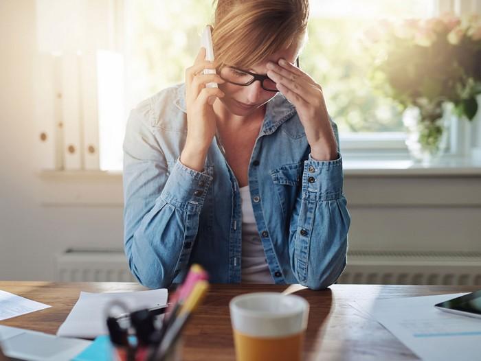Стресс плохо сказывается на всех аспектах внешности и здоровья.