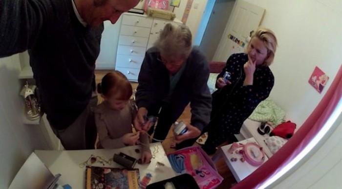 «Тайная комната» стала сюрпризом для всей семьи.