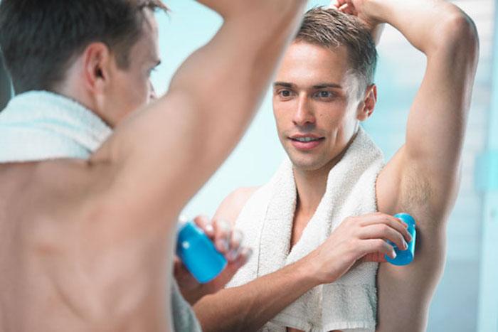Дезодорант на мокрой коже – деньги на ветер.