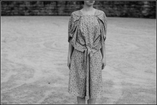 Платье из одеяла-трансформера