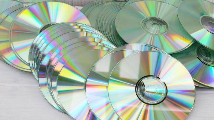 Старые диски – источник вдохновения.