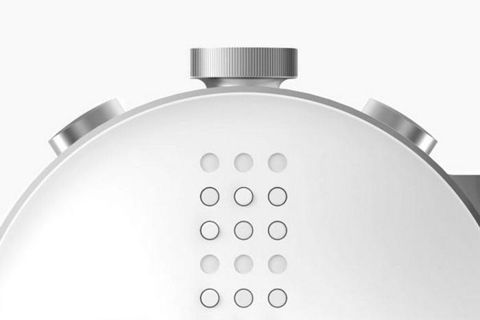 Dot – первые смарт-часы на основе шрифта Брайля