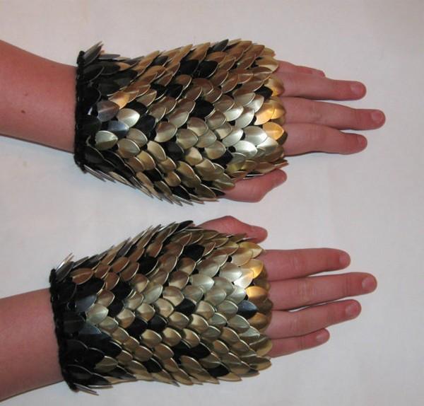 «Драконьи» перчатки. Реальный вариант