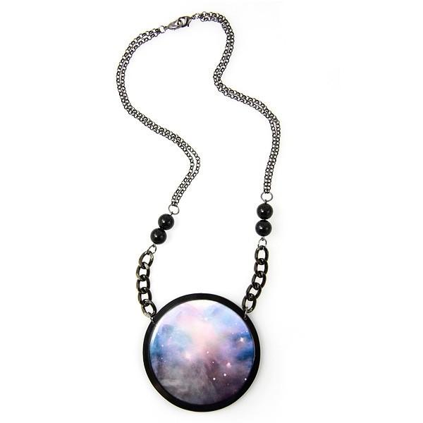 Дизайнерские украшения с галактическими мотивами от Алисии Ханны Наоми (Alicia Hannah Naomi)