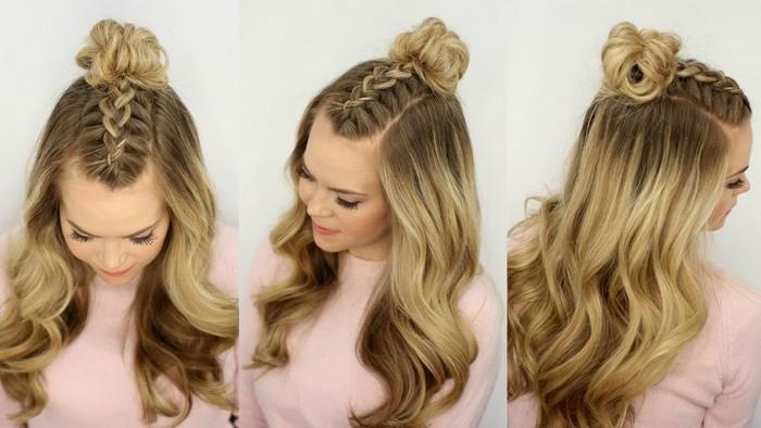 7 простых и эффектных причёсок для жаркого лета