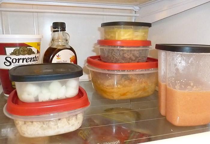 Продукты с неожиданно коротким сроком хранения: остатки еды.