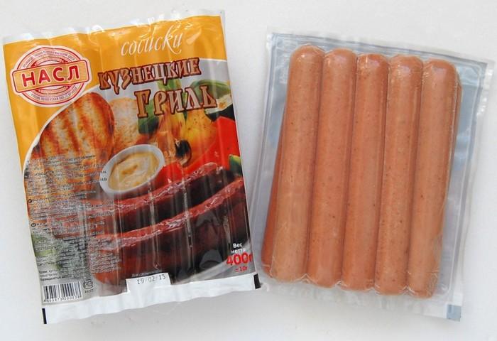 Продукты с неожиданно коротким сроком хранения: сосиски.