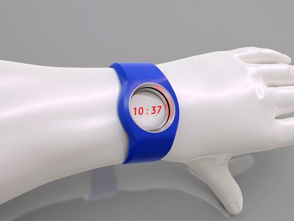 Ну очень необычные часы Elusive, которым даже циферблат не нужен