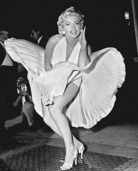 Marilyn Monroe sempre vem em primeiro lugar