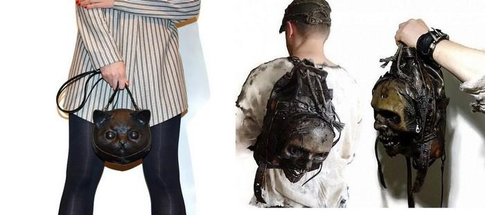 Зловещие рюкзаки и сумки FamilySkiners из натуральной кожи