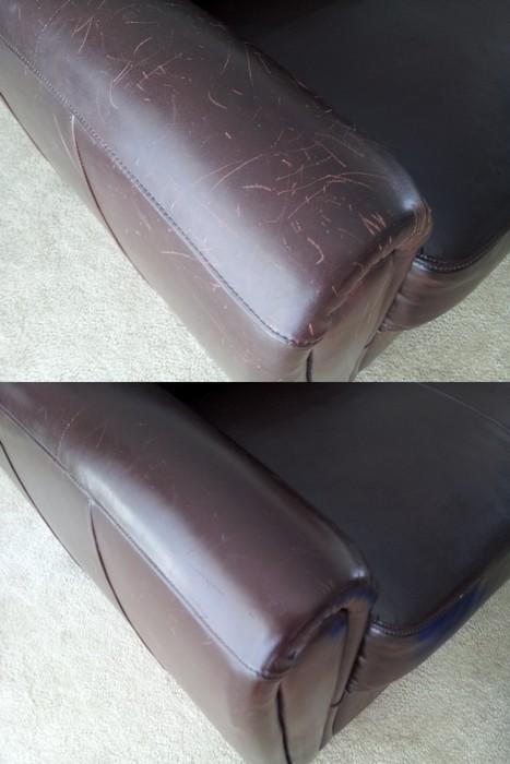 Как убрать царапины на деревянной и кожаной мебели