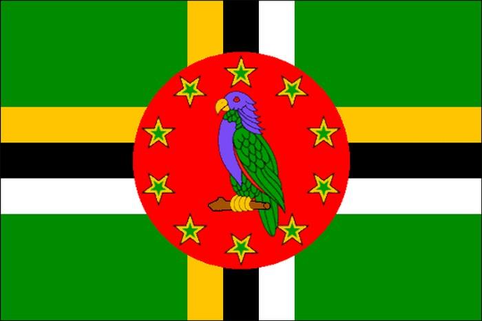 Флаг Содружества Доминика.