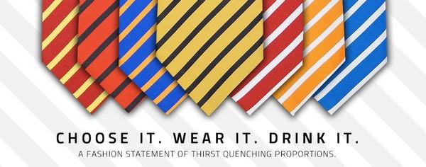 Алко-галстук и фляга по совместительству FlaskTie