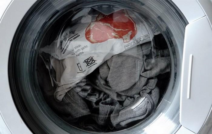 Новая идея полуфабрикатов Sous La Vie или как приготовить еду в стиральной машинке