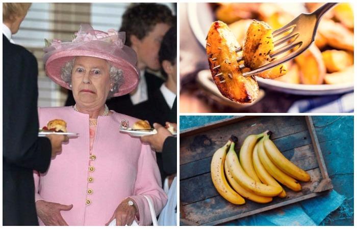 Продукты и блюда, которые под запретом в Букингемском дворце