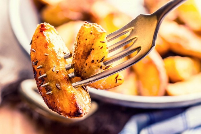 Картошка – это не по-королевски.