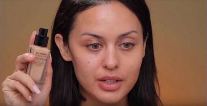 Американки обожают плотный тональный крем с эффектом «второй кожи».