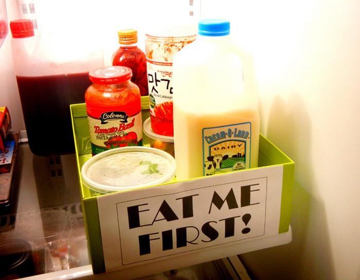 8 гениально простых лайфхаков для порядка в холодильнике