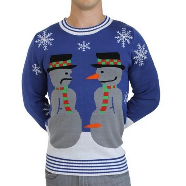 Рождественские свитеры с юмором и добрыми намерениями