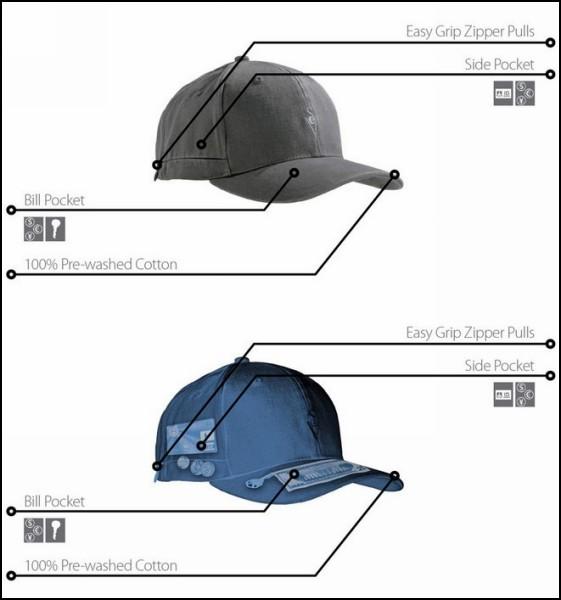 Обзор оригинальных шапок и прочих головных уборов: кепка для путешествий