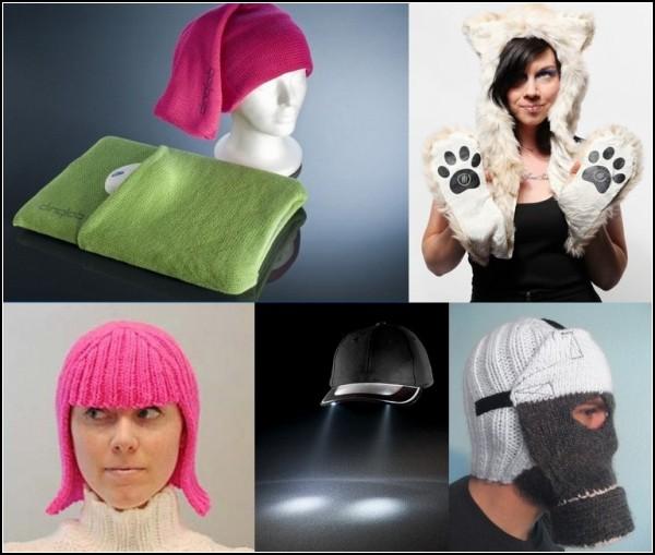 Обзор оригинальных шапок и прочих головных уборов