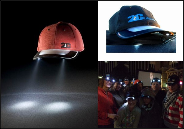 Обзор оригинальных шапок и прочих головных уборов: кепка с подсветкой