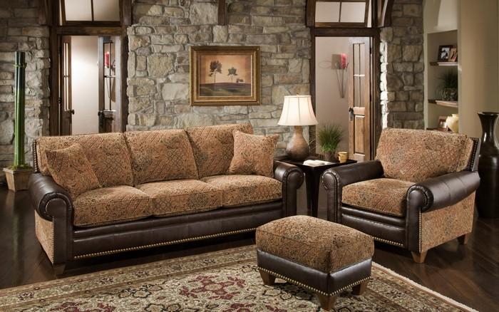 Классической мягкой мебели можно найти более креативную альтернативу.