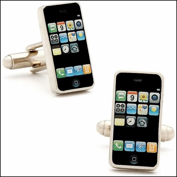 Обзор (сомнительно) полезной одежды для фанатов гаджетов: запонки для фанатов iPhone