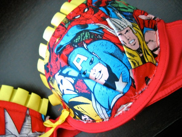 Супербюстгальтеры для супергерогинь