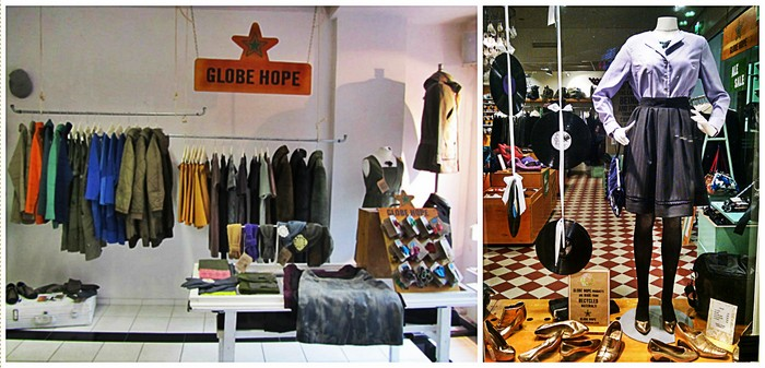 10 колоритных вещей, которые стоит привезти из Хельсинки: одежда из вторсырья Globe Hope