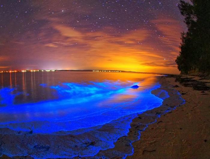 Космические пляжи на Мальдивах.