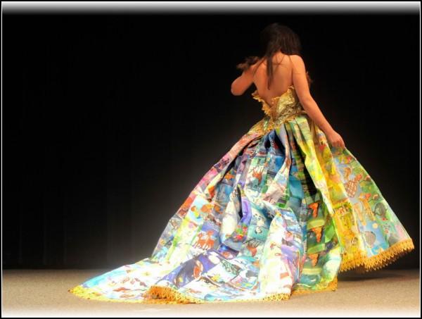 Сказочное дизайнерское платье от Райана Новеллина