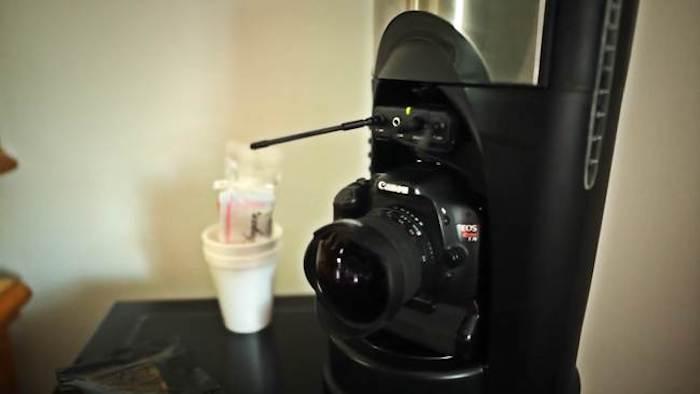 «Скрытая» камера.