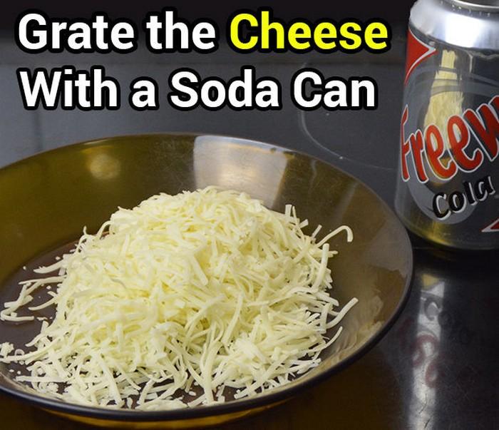Как сделать тёрку для сыра из жестяной банки