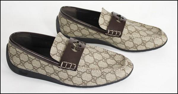 Мужские туфли Gucci для модников и автомобилистов