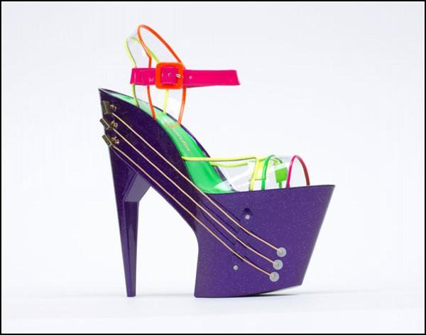 Необычные музыкальные туфли Eshoe