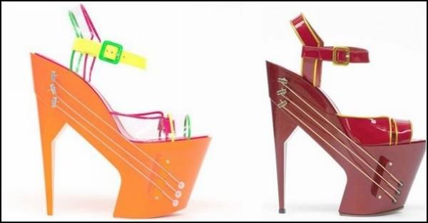 Необычные туфли - союз Chicks On Speed и Max Kibardin