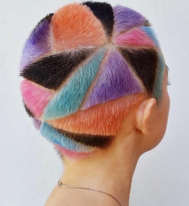 Rainbow Hair Carving или «лоскутное одеяло» - новая модная стрижка, на которую решится не каждая