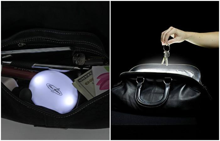 Handbag Light – сенсорный фонарик для поиска вещей в дебрях сумки 40ce596a21e