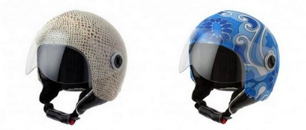 Защитные шлемы для прекрасных гонщиц HelmetDress