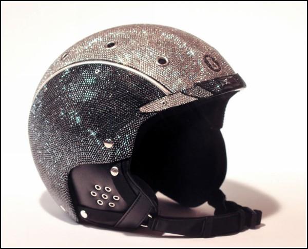 10-ка оригинальных защитных шлемов: слишком гламурный шлем