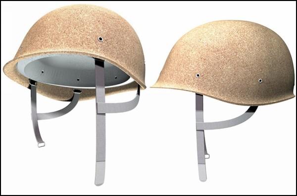 10-ка оригинальных защитных шлемов: пробковый шлем