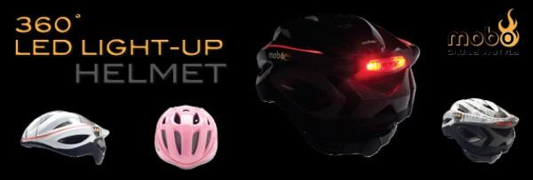 10-ка оригинальных защитных шлемов: шлем со светодиодами