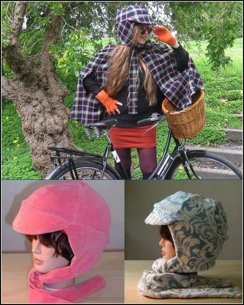 10-ка оригинальных защитных шлемов: мягкие шлемы